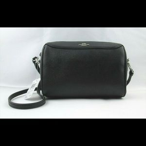Coach Bennett Crossbody Black Leather F76629